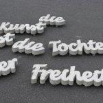Petia Knebel, Die Kunst ist die Tochter der Freiheit